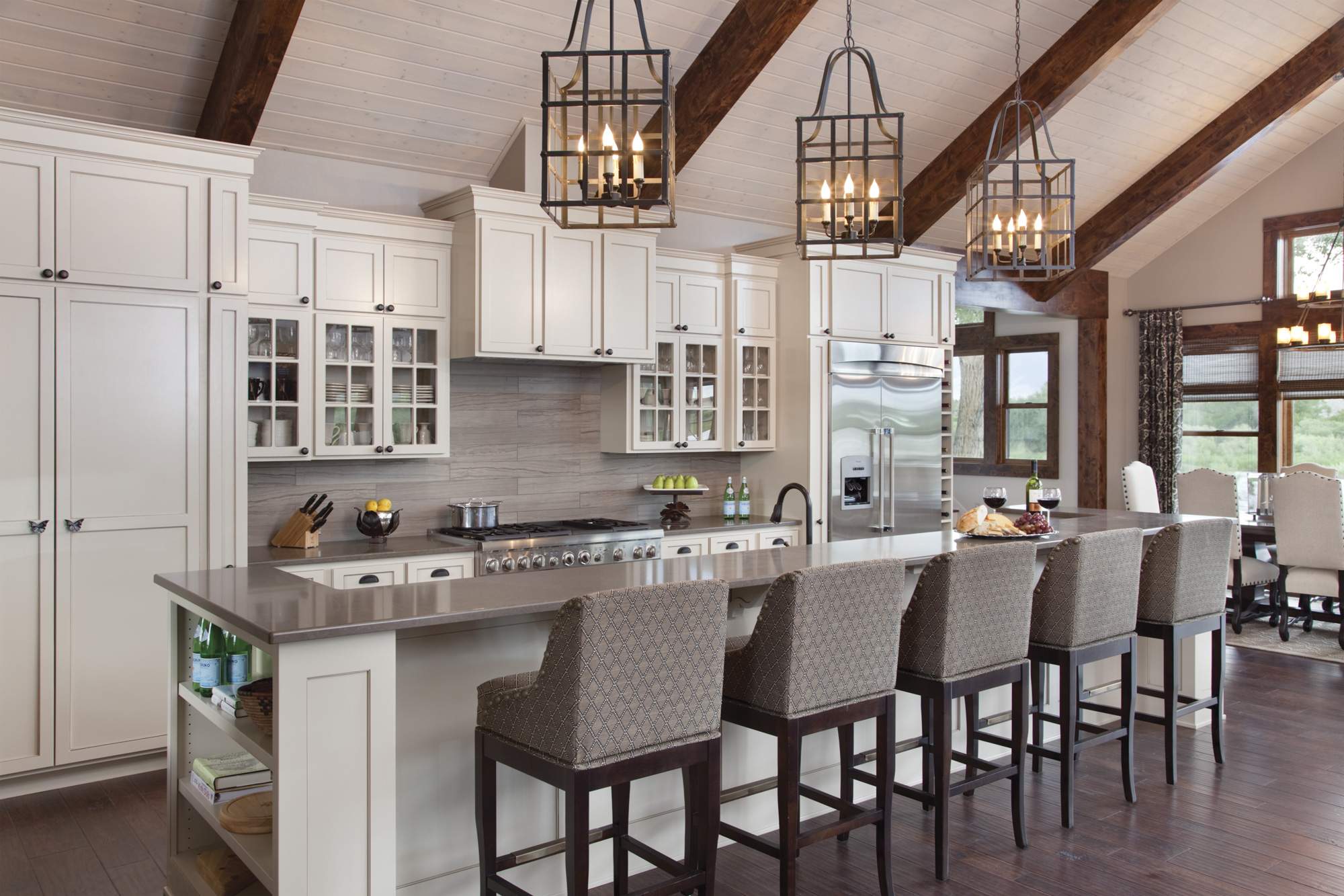 The Kitchenu0027s Design Was A Collaborative Effort Between Steve Farnam And  Heather Harkovich. In The