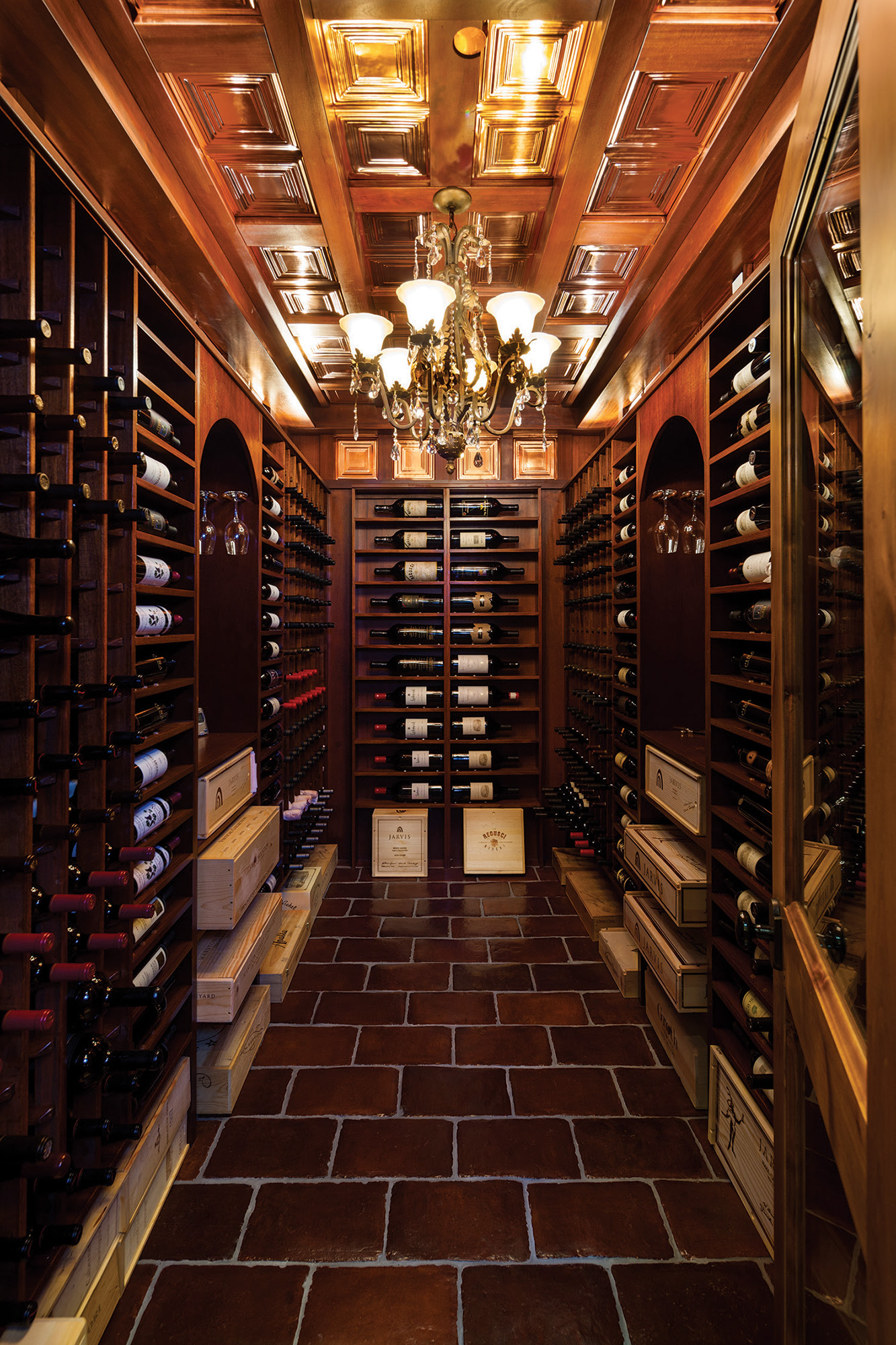 From fable to fruition big sky journal for Walk in wine cellar