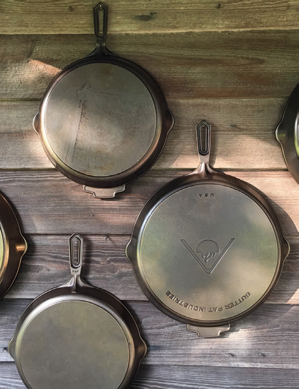 Cast Iron Skillets By Butter Pat Industries